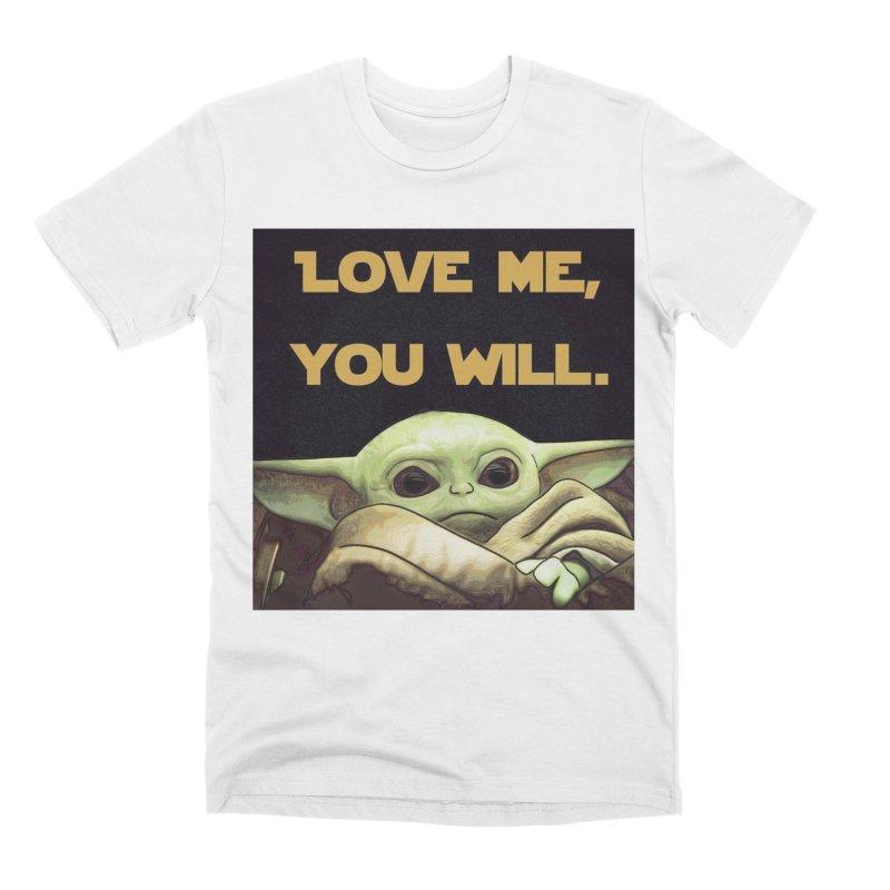 Love Me... Men's T-Shirt by Jason Lloyd Art