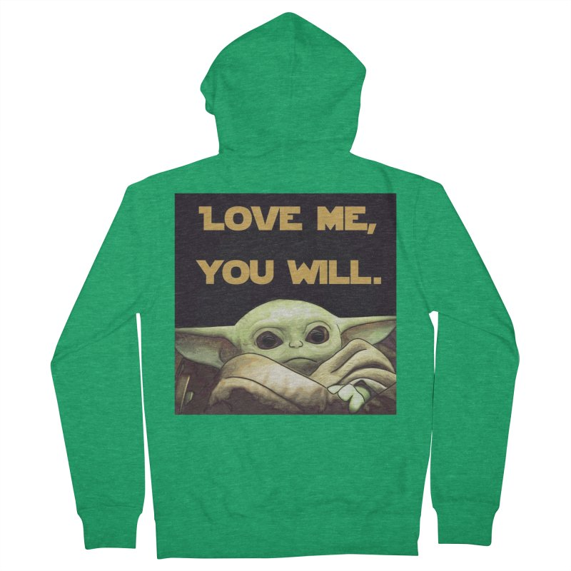 Love Me... Women's Zip-Up Hoody by Jason Lloyd Art