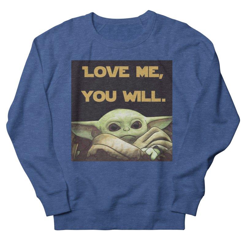 Love Me... Men's Sweatshirt by Jason Lloyd Art