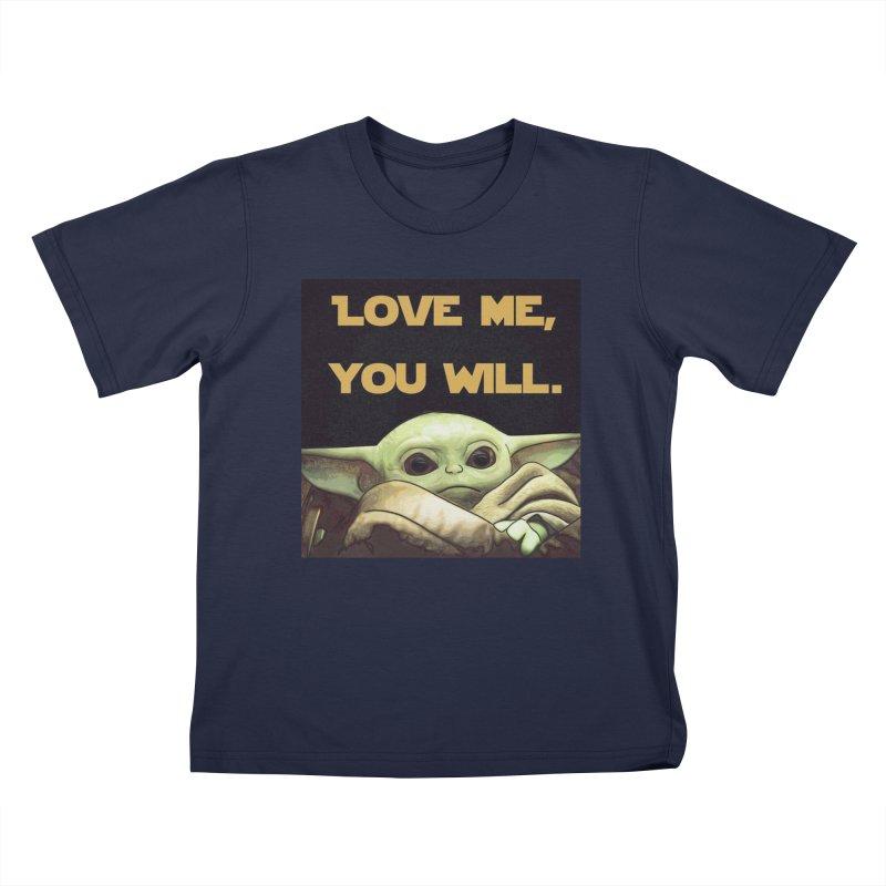 Love Me... Kids T-Shirt by Jason Lloyd Art