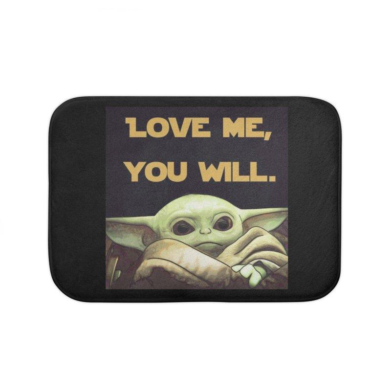Love Me... Home Bath Mat by Jason Lloyd Art
