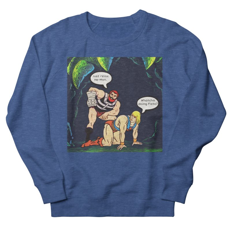 Whatcha Doing... Men's Sweatshirt by Jason Lloyd Art
