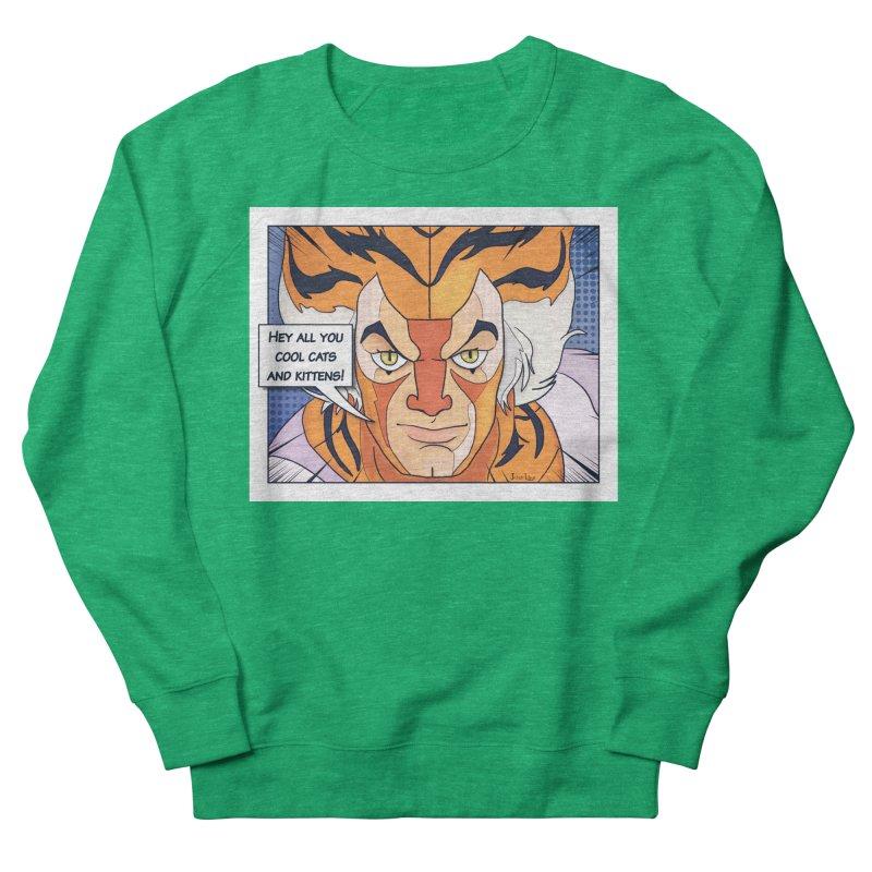 Cool Cats Women's Sweatshirt by Jason Lloyd Art