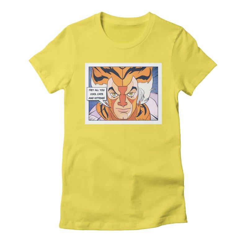 Cool Cats Women's T-Shirt by Jason Lloyd Art