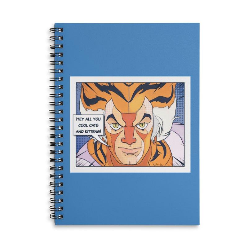 Cool Cats Accessories Notebook by Jason Lloyd Art