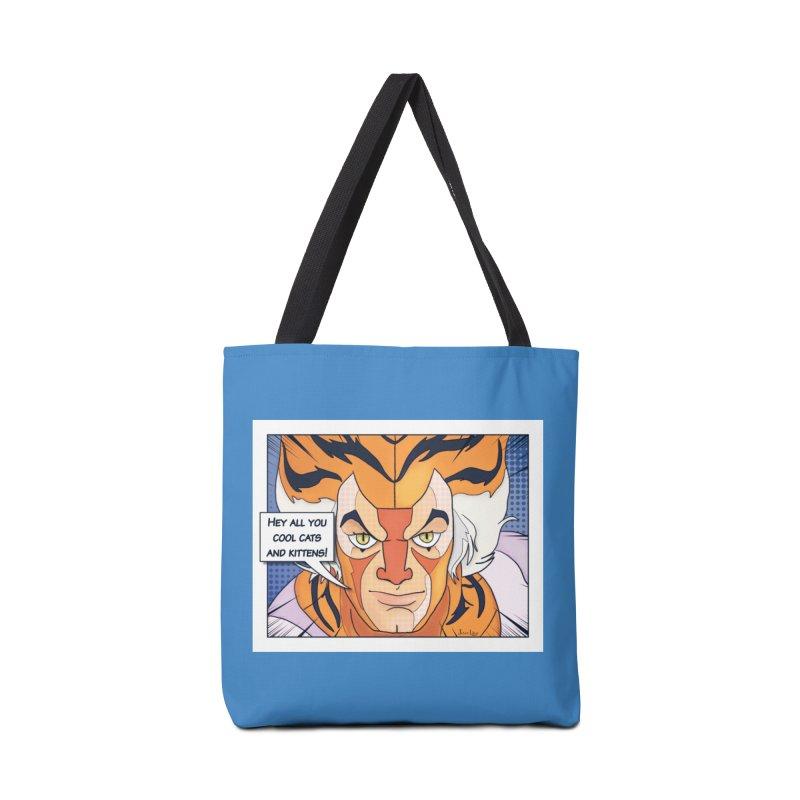 Cool Cats Accessories Bag by Jason Lloyd Art
