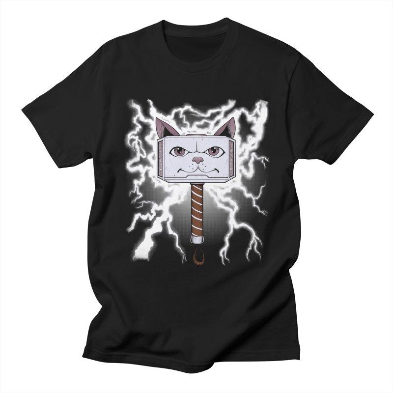 Meowlnir Men's T-Shirt by Jason Piperberg's Artist Shop