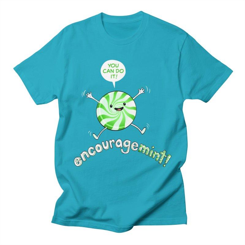 Encouragemint (Spearmint) Men's T-Shirt by Jason Piperberg's Artist Shop