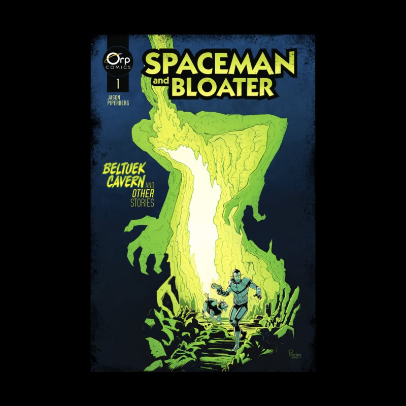 SPACEMAN AND BLOATER: Distressed Comic Cover by Jason Piperberg's Artist Shop