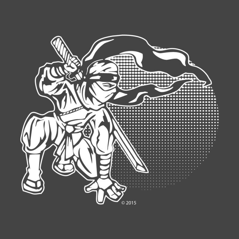 Ninja In The Sunset Men's Pullover Hoody by Jason A. Das - Chameleon Studios