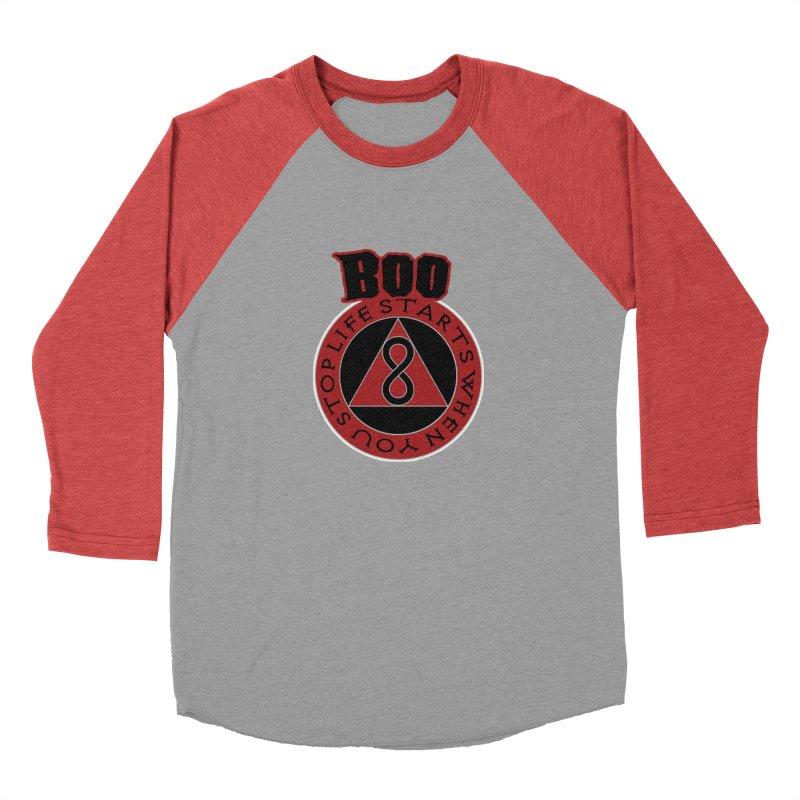 BOO - Life Starts When You Stop Coin Men's Longsleeve T-Shirt by Cyclamen Films Merchandise
