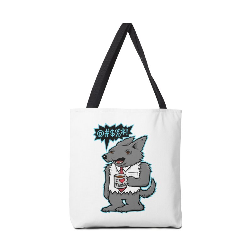 SwearWolf Accessories Bag by Jayme T-shirts