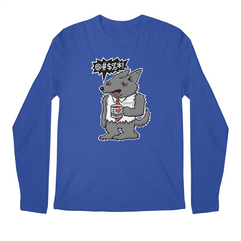 SwearWolf Men's Longsleeve T-Shirt by Jayme T-shirts