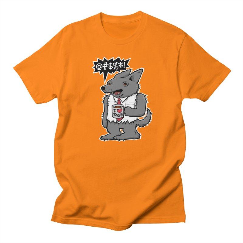 SwearWolf Women's Unisex T-Shirt by Jayme T-shirts