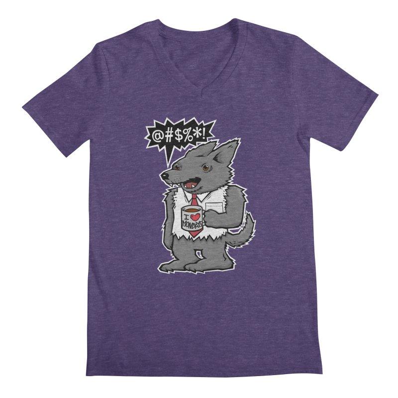 SwearWolf Men's V-Neck by Jayme T-shirts