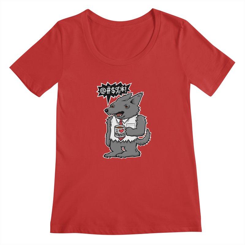 SwearWolf Women's Scoopneck by Jayme T-shirts
