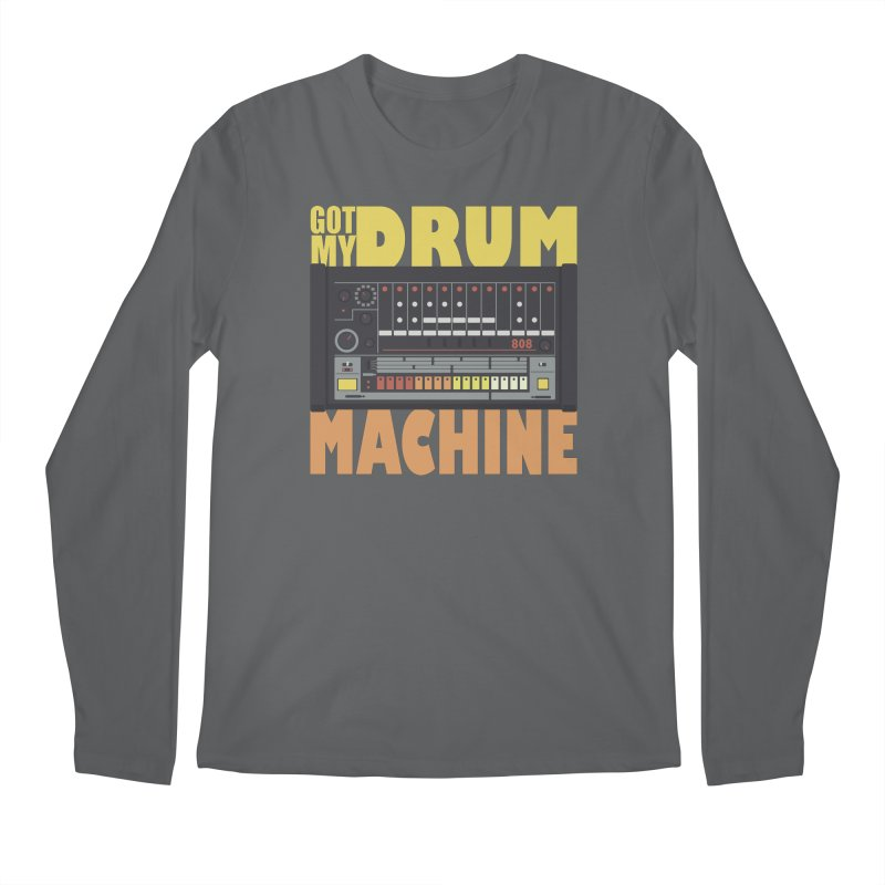 Drum Machine Men's Longsleeve T-Shirt by Jayme T-shirts