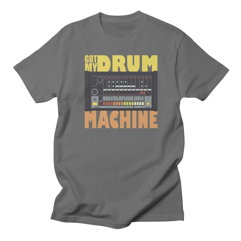 Drum Machine Men's T-shirt by Jayme T-shirts