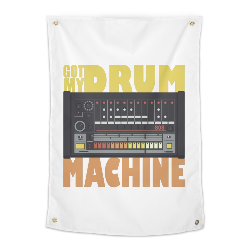 Drum Machine Home Tapestry by Jayme T-shirts