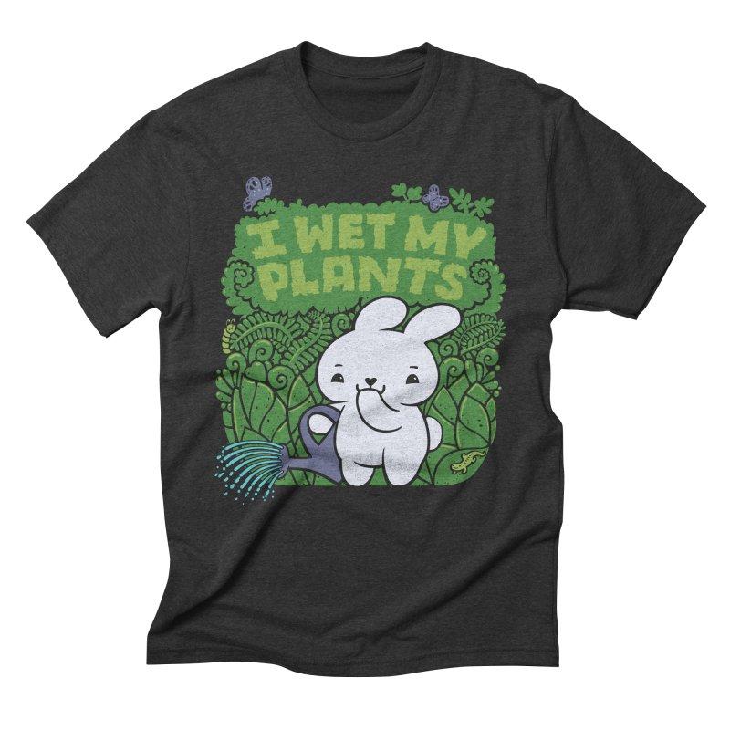 the Gardener Men's Triblend T-shirt by Jayme T-shirts