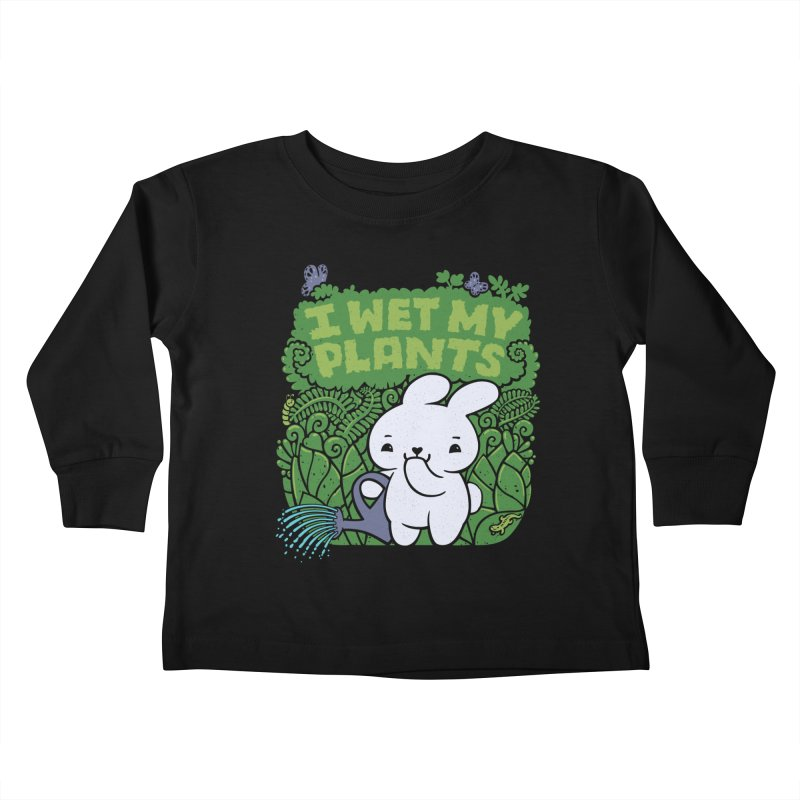the Gardener Kids Toddler Longsleeve T-Shirt by Jayme T-shirts