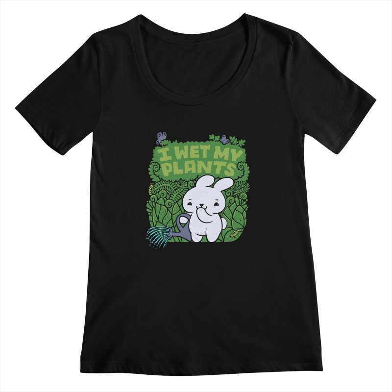 the Gardener Women's Scoopneck by Jayme T-shirts