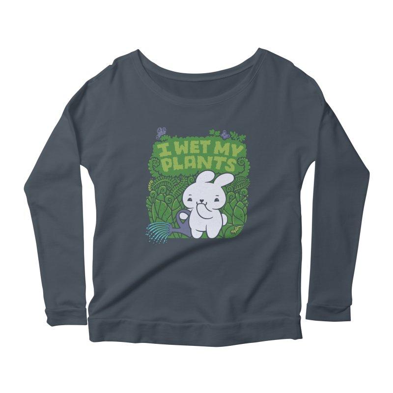 the Gardener Women's Longsleeve Scoopneck  by Jayme T-shirts