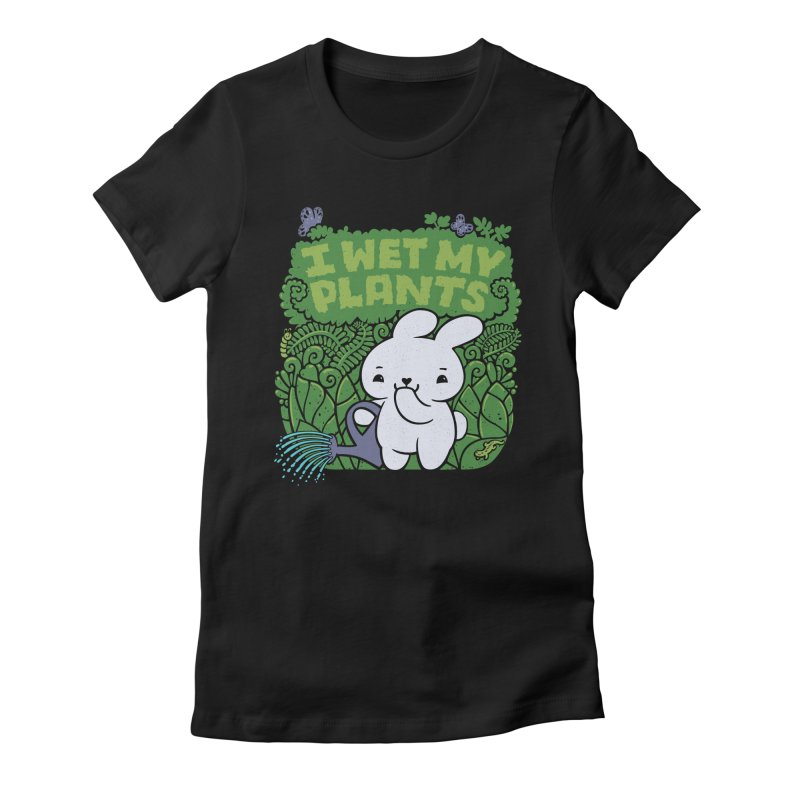 the Gardener Women's Fitted T-Shirt by Jayme T-shirts