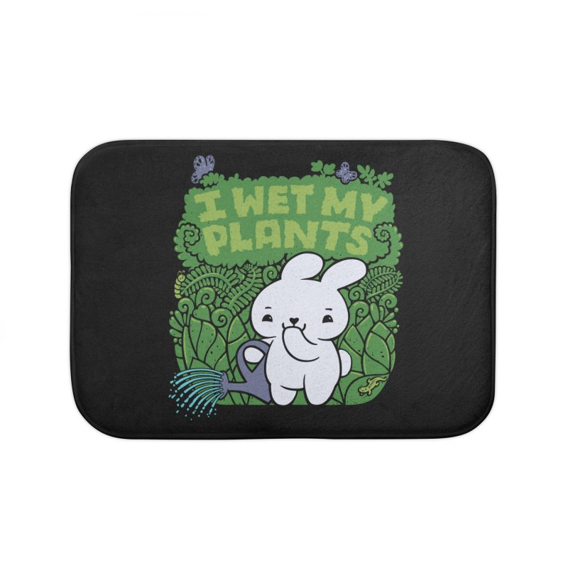 the Gardener Home Bath Mat by Jayme T-shirts