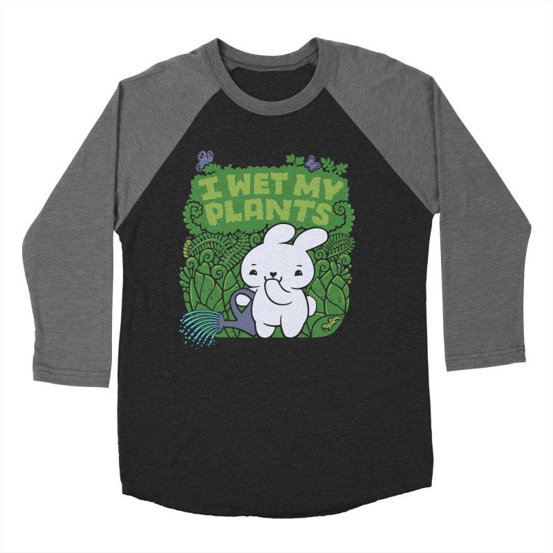 the Gardener Women's Baseball Triblend T-Shirt by Jayme T-shirts
