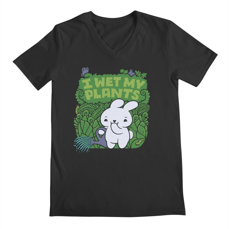 the Gardener Men's V-Neck by Jayme T-shirts