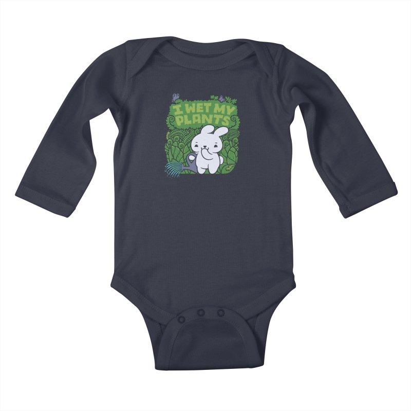 the Gardener Kids Baby Longsleeve Bodysuit by Jayme T-shirts