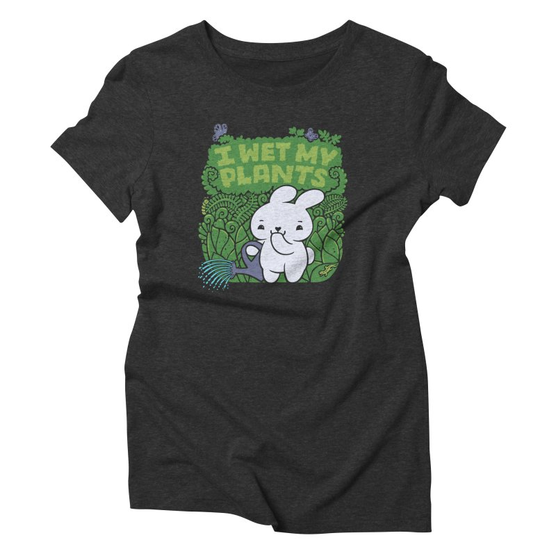 the Gardener Women's Triblend T-Shirt by Jayme T-shirts