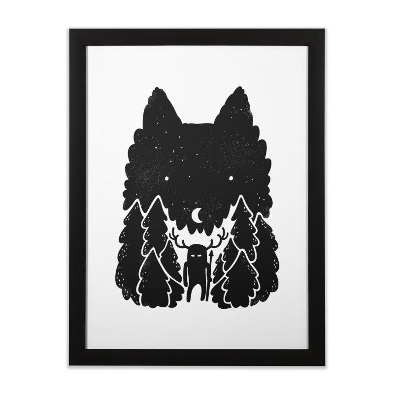 Amarok Home Framed Fine Art Print by Jayme T-shirts