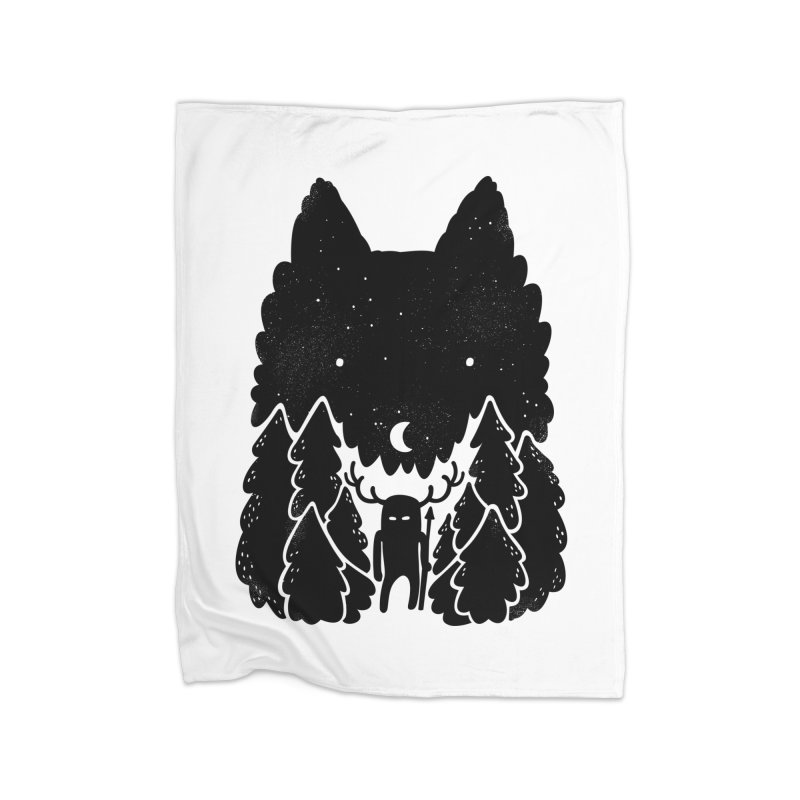 Amarok Home Fleece Blanket by Jayme T-shirts