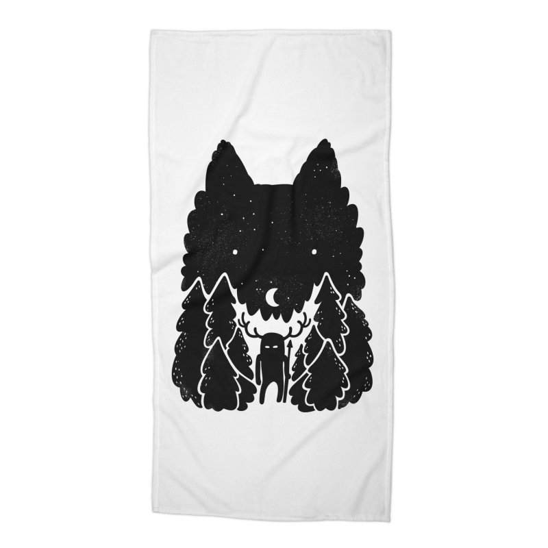 Amarok Accessories Beach Towel by Jayme T-shirts