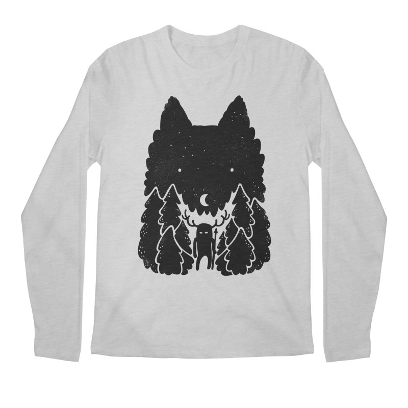 Amarok Men's Longsleeve T-Shirt by Jayme T-shirts