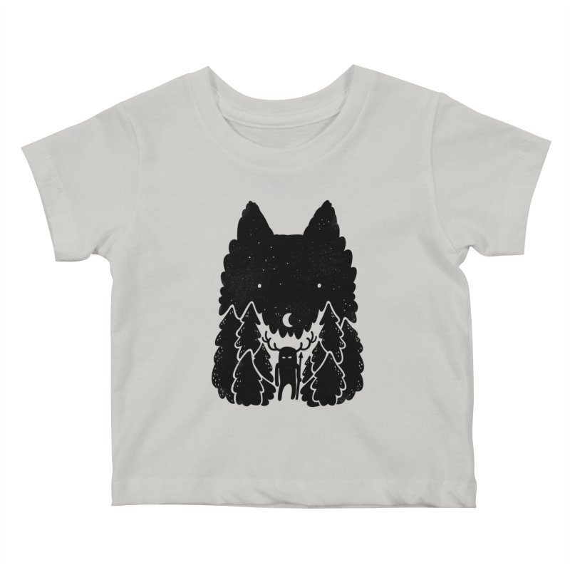 Amarok Kids Baby T-Shirt by Jayme T-shirts