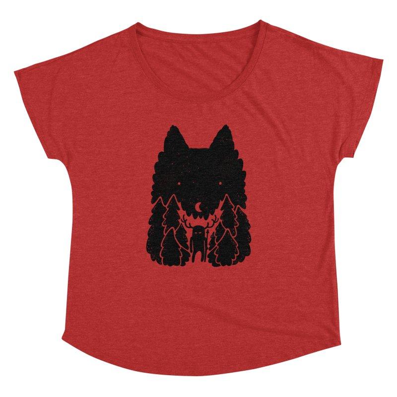 Amarok Women's Dolman by Jayme T-shirts