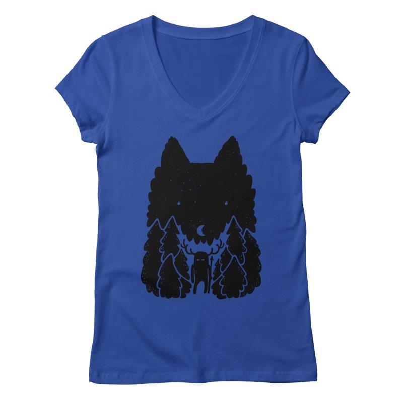 Amarok Women's V-Neck by Jayme T-shirts