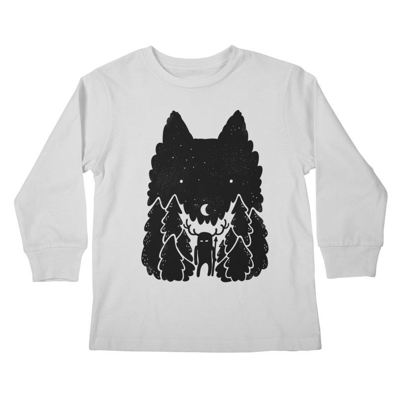 Amarok Kids Longsleeve T-Shirt by Jayme T-shirts