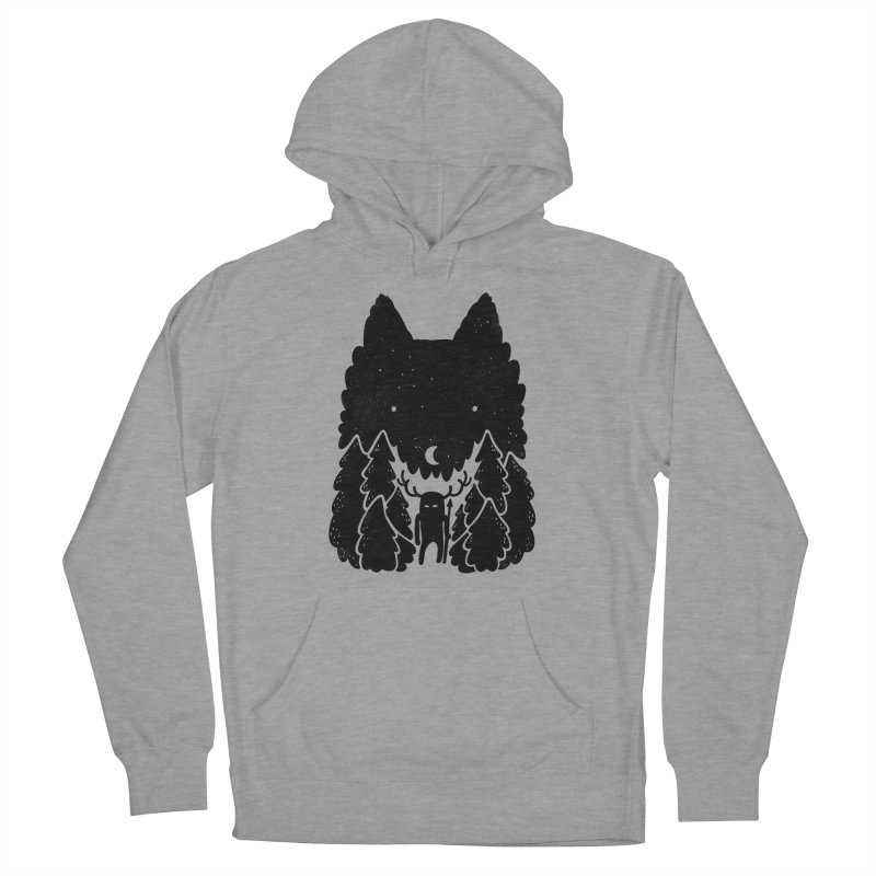 Amarok Men's Pullover Hoody by Jayme T-shirts