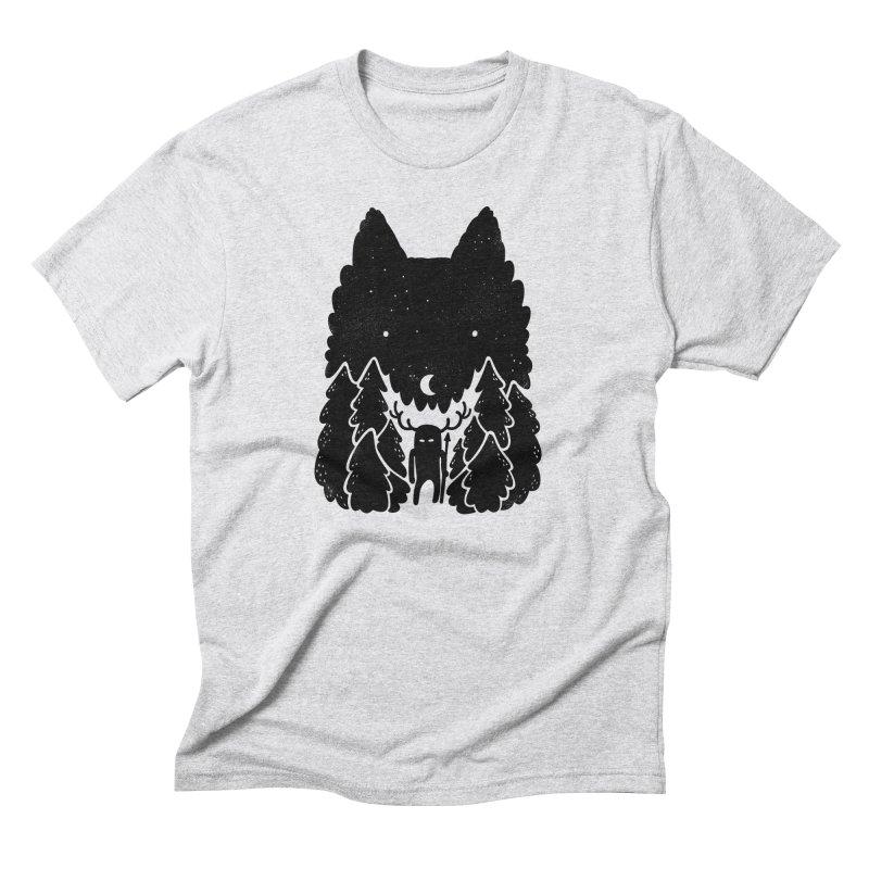 Amarok Men's Triblend T-Shirt by Jayme T-shirts