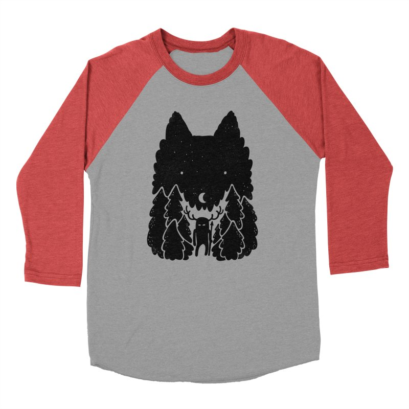 Amarok Men's Baseball Triblend T-Shirt by Jayme T-shirts