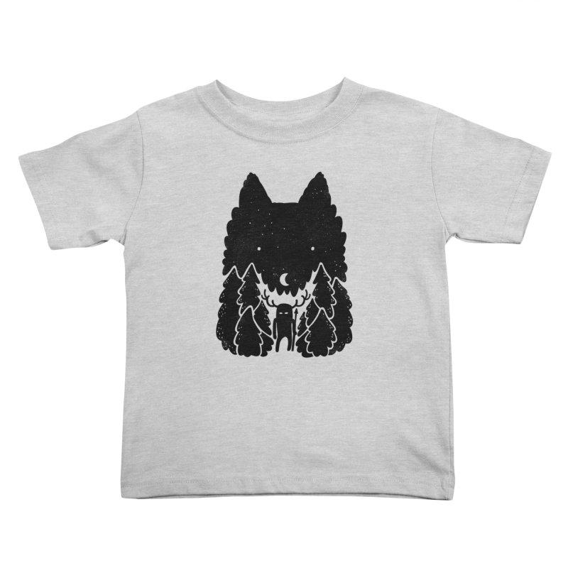 Amarok Kids Toddler T-Shirt by Jayme T-shirts