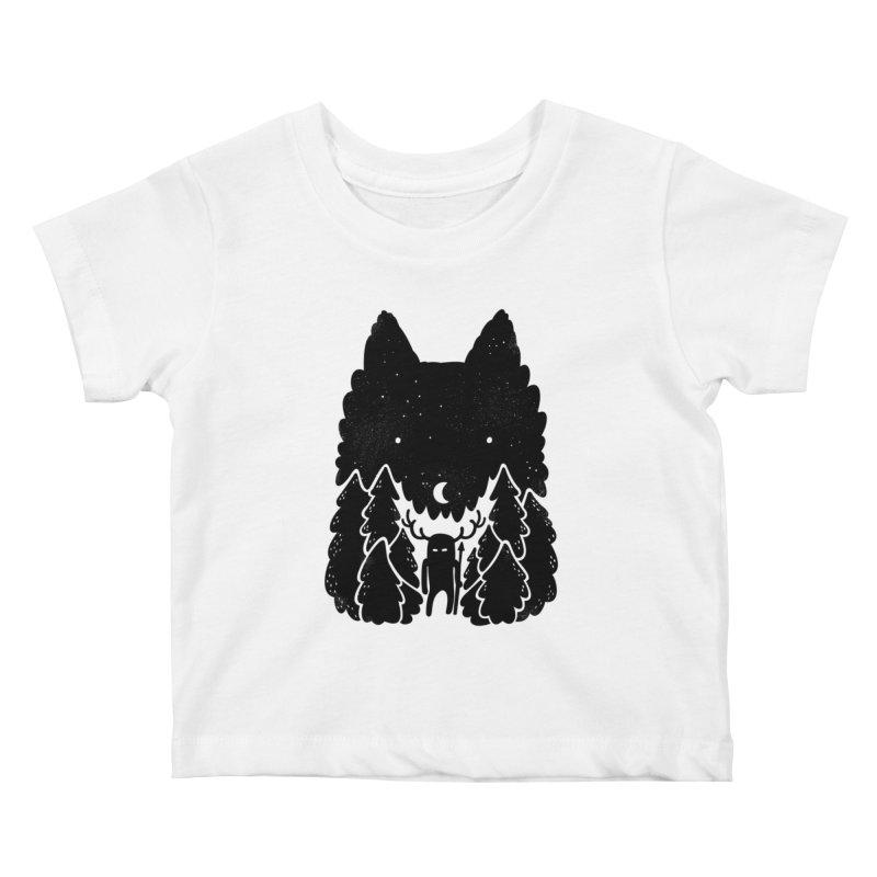 Amarok Kids Baby T-Shirt by Jayme T-shirts