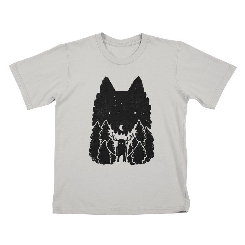 Amarok Kids T-Shirt by Jayme T-shirts