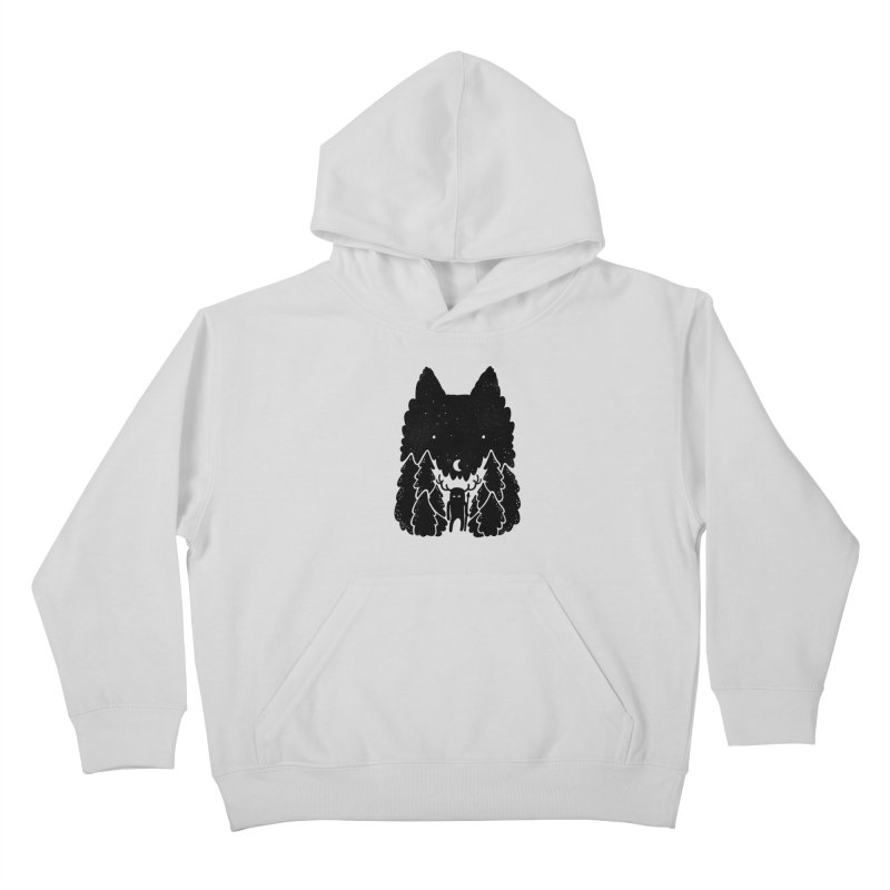 Amarok Kids Pullover Hoody by Jayme T-shirts