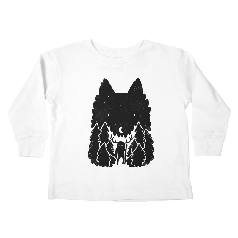 Amarok Kids Toddler Longsleeve T-Shirt by Jayme T-shirts
