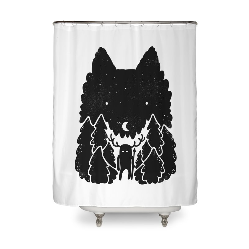 Amarok Home Shower Curtain by Jayme T-shirts